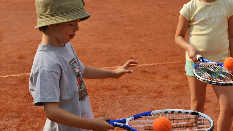 Piccoli tennisti crescono...